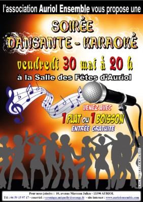 Soirée dansante - karaoké 30-05-14