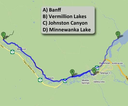 Giro 1 da Banff