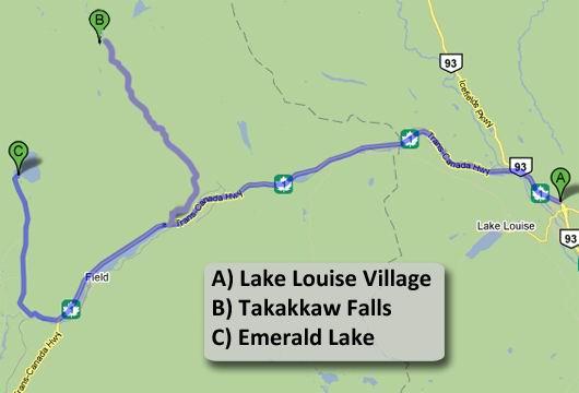 Giro 3 da Lake Louise