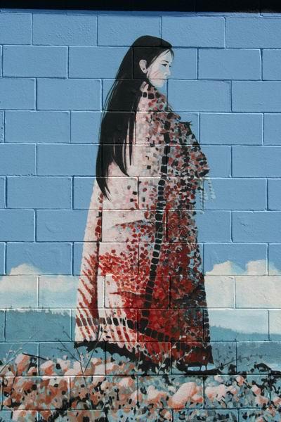 Murales a ChemainusVictoria