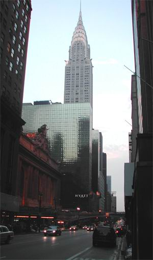 Chrysler Building e Grand Central Station