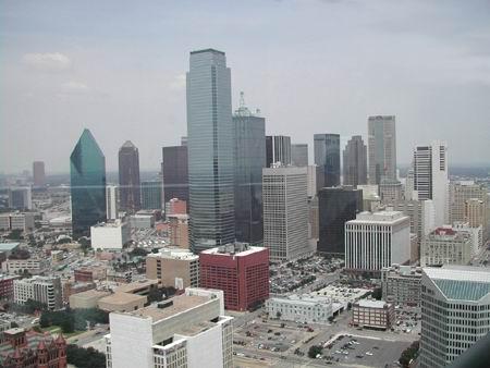 Dallas Downtown dalla Reunion Tower