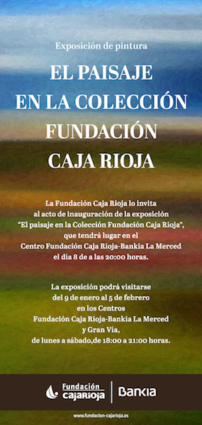 """El Paisaje en la Colección Fundación Caja Rioja"""""""