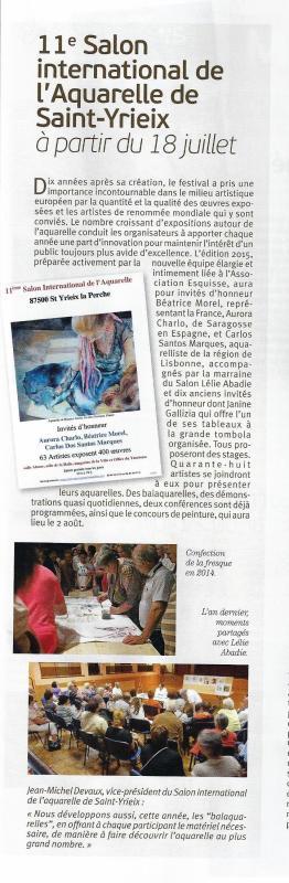 Pratique des Arts 29 mai-31 juillet 2015 page 19