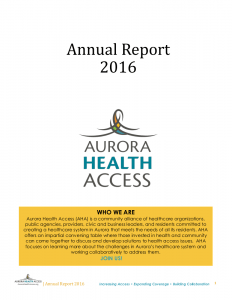 Annual Report for 2016