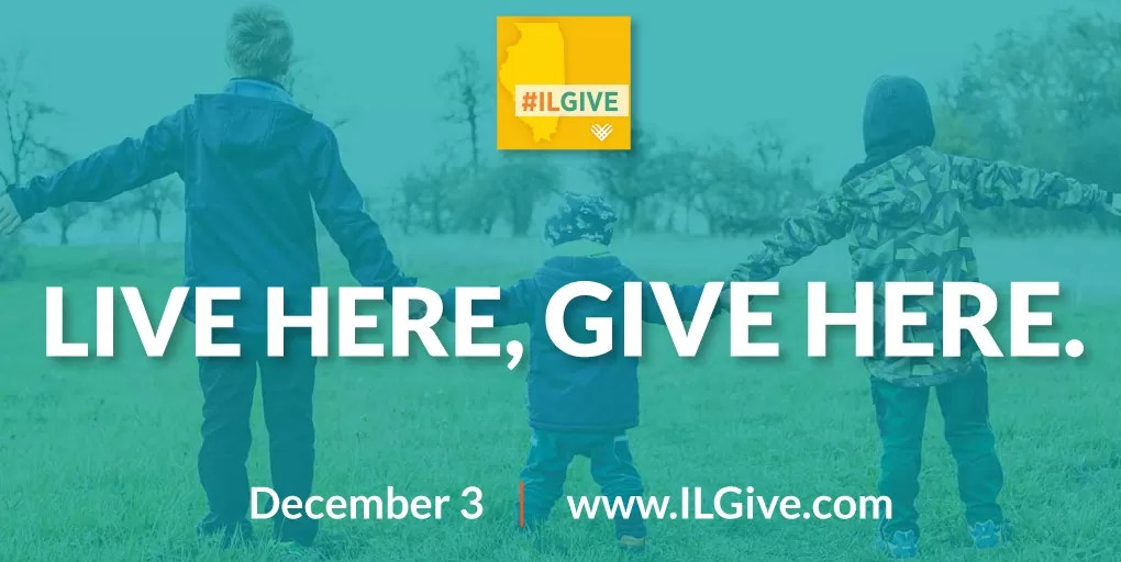Giving Tuesday. Live here, give here.