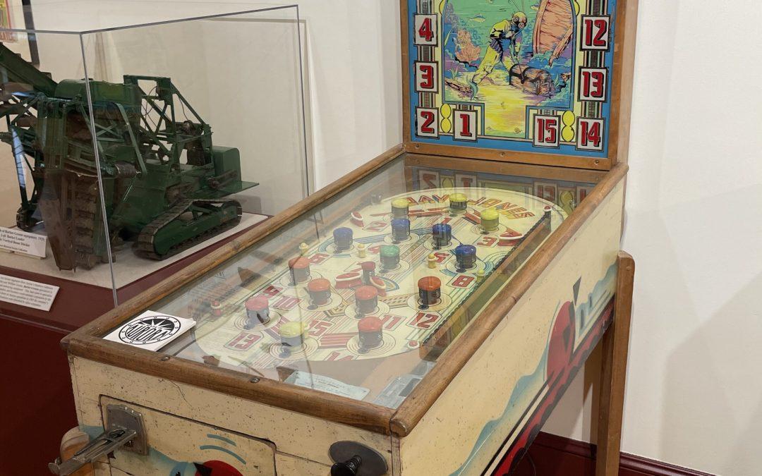 Made In Aurora: Davy Jones Pinball Machine