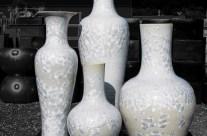 Crystalline Tall Display Pieces