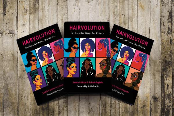 Hairvolution books