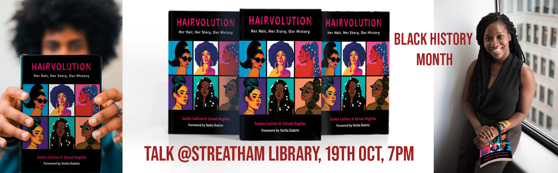 Hairvolution: Her Hair, Her Story, Our History