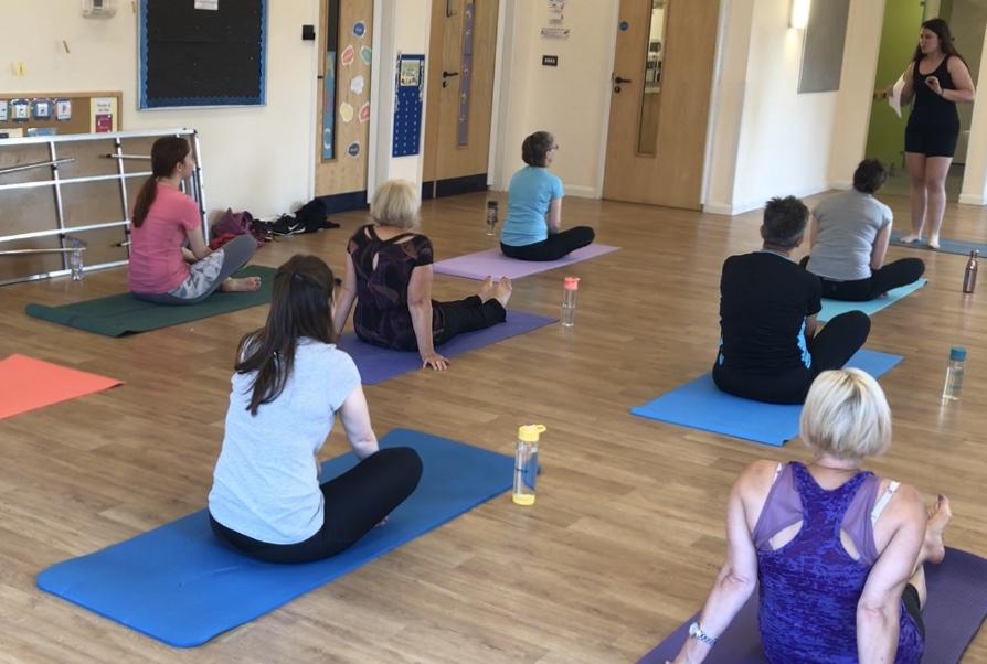 swindon yoga and pilates classes