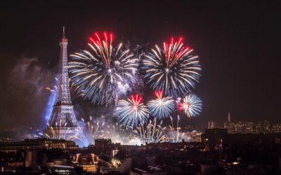 Fireworks, feu d'artifice, Tour Eiffel, Eiffel Tower - © Aurore Alifanti Photographie - Photographe Paris, Voyage, Tourisme