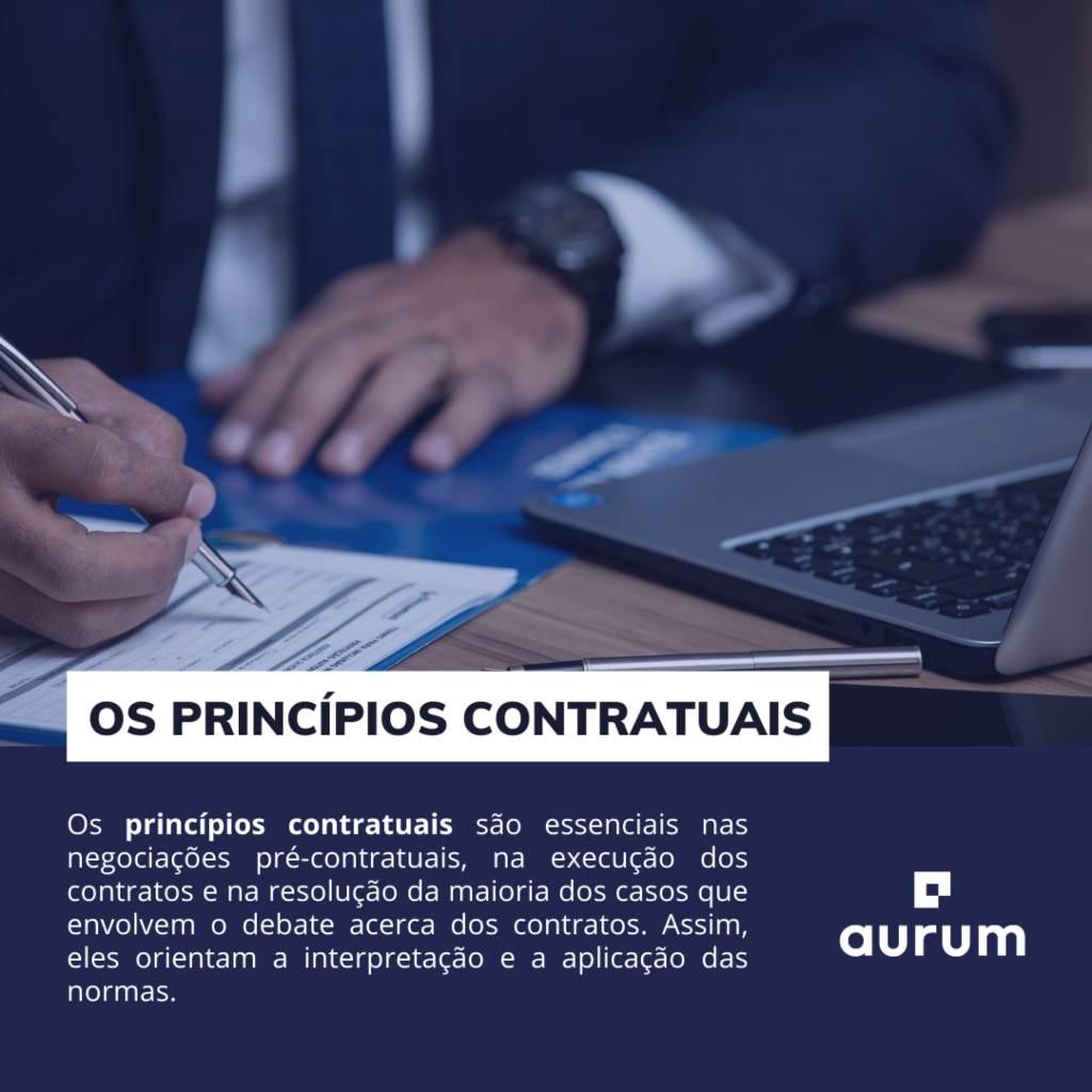 Entenda o que são os princípios contratuais do direito brasileiro.