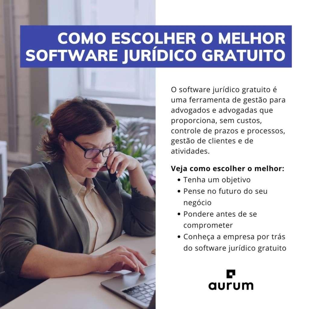 Confira como escolher o melhor software jurídico