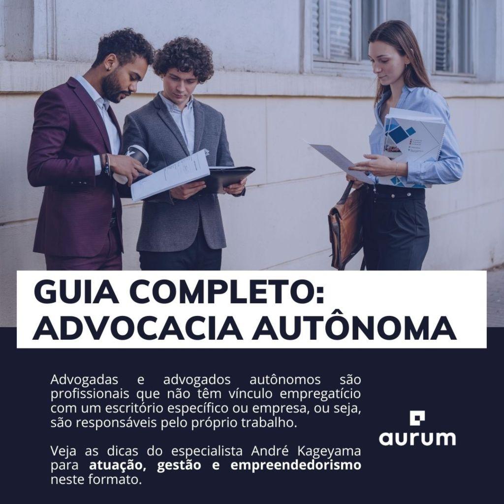 guia completo advogada e advogado autonomo