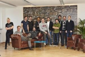 Cosmin Ene (ganz rechts) mit seinem LaterPay Team