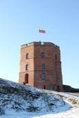Burg von Vilnius fotografiert ...