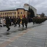 Parade der Militärkräfte