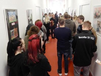 Berufliche Schule der FAWZ gGmbH_Im Landtag Potsdam mit Elisabeth Alter_2019