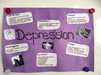 Sozialassistenten_Wandzeitung_Depression