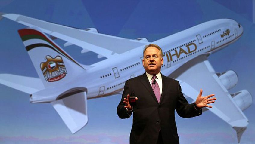 Etihad A380s for Sydney, Melbourne; Boeing 787s for Brisbane, Perth