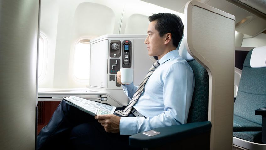 Inside Cathay Pacific's all-new Airbus A350