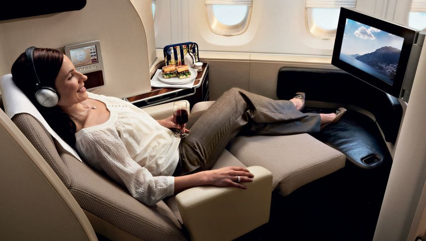 Qantas A380 first class suite will be up for grabs for top-tier frequent flyers booked into business class on the Sydney-Hong Kong route