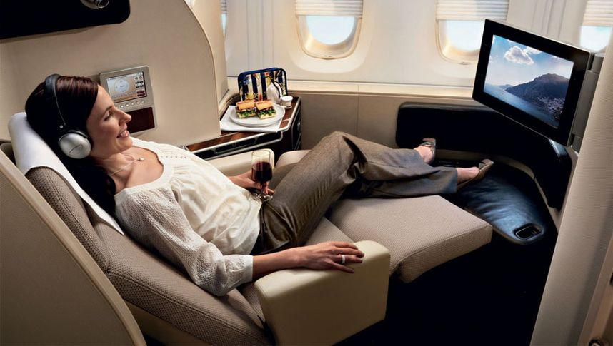 Want to stretch out in first class? You may need to change your flight.