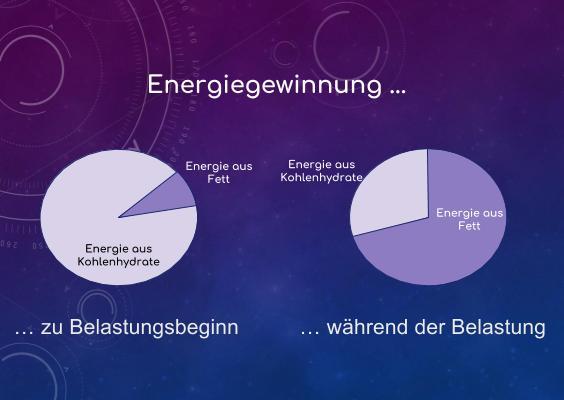 Nüchterntraining, Energiegewinnung, Fett vs. Kohlenhydrate