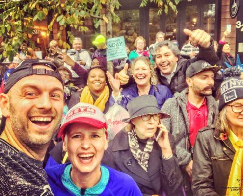 New York City Marathon, Selfie