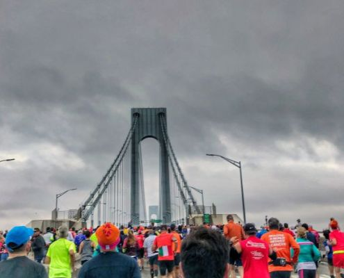New York City Marathon, Verrazano-Narrows Bridge
