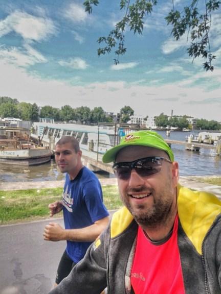 Sascha laufen, Marathonvorbereitung, Training