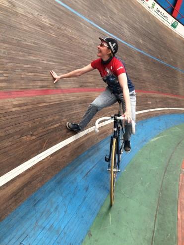 Ausdauer-Coaches, #frauenimsport, Steckbrief Annette Feldmann, Frauen im Radsport, Velodrom Steilwand