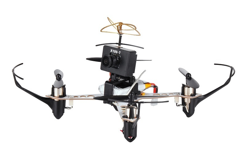 Rc Mini Racing Drone With Fpv Camera Xk X100 T