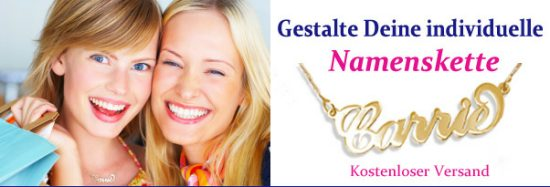 Carrie kette gold