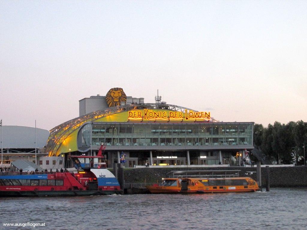 Hamburg mit Kindern Nordsee Urlaub König der Löwen