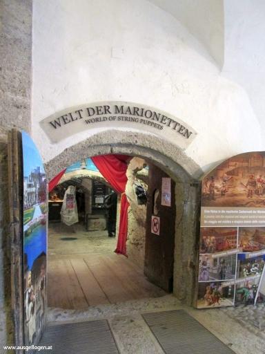 Marionettenmuseum Festung Hohensalzburg