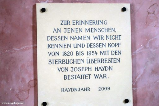 Joseph Haydn Kopf