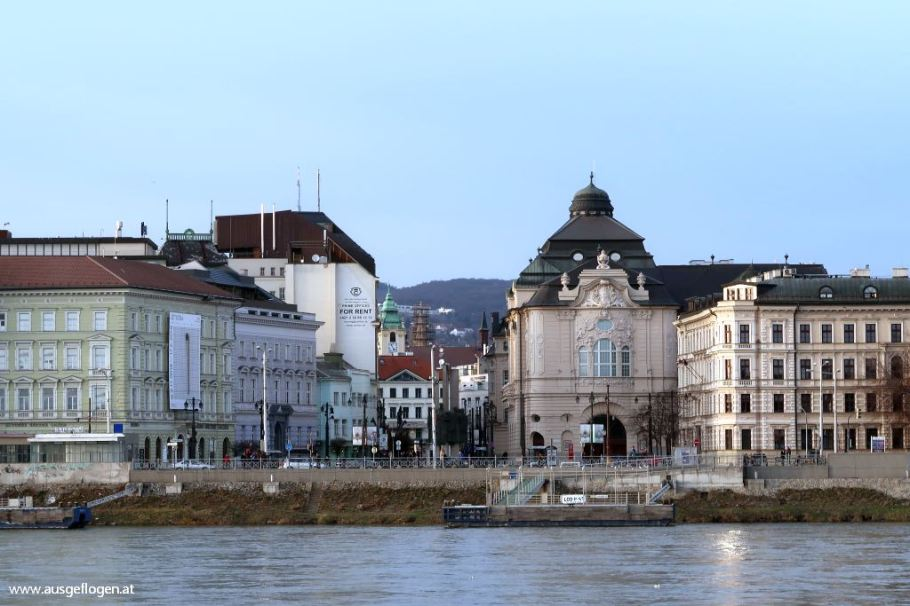 Bratislava Donau Spaziergang