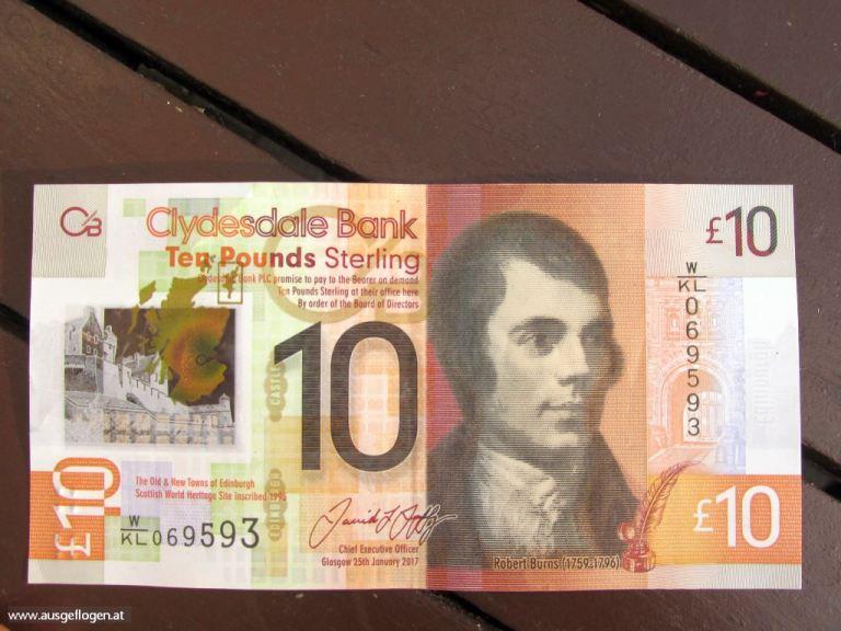 schottische Pfundnote