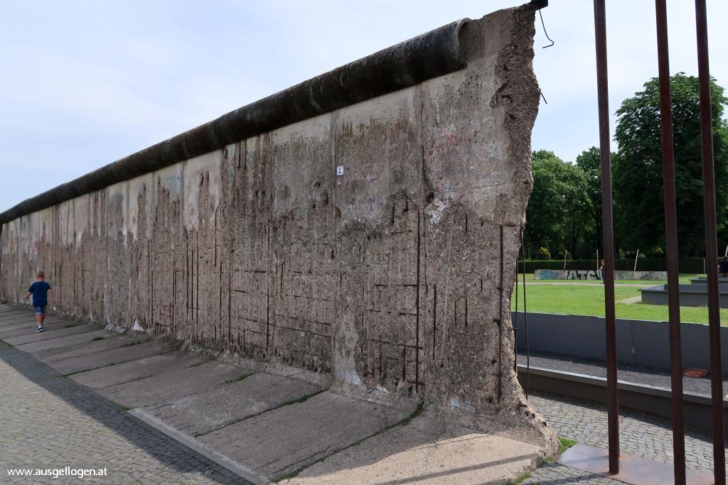 Gedenkstätte Berliner Mauer Urlaubsideen Kinder