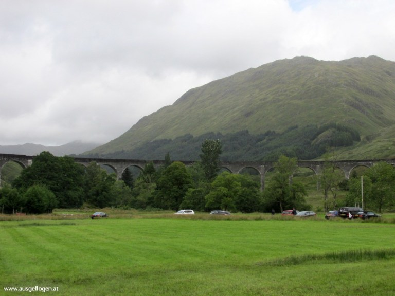 Glenfinnan Viadukt Harry Potter