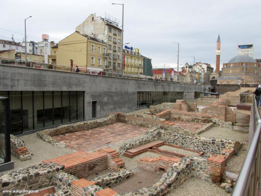 Sofia römische Ausgrabungen