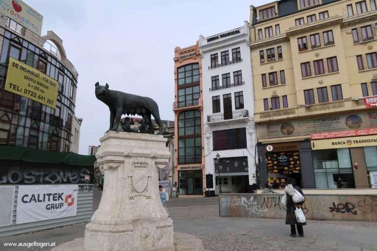 Wölfin Romulus Remus