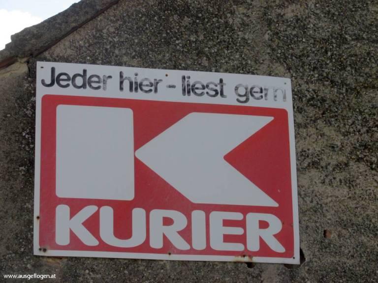 Kurier Schild Österreich
