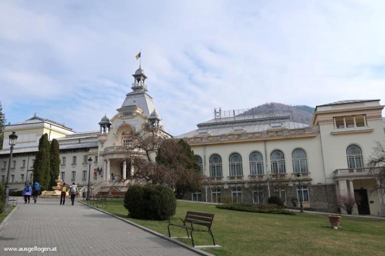 Casino Sinaia Transsylvanien Ausflug