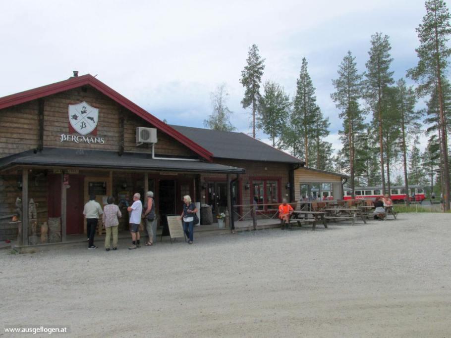 Bergmans Fisk & Restaurang Inlandsbanan Stop