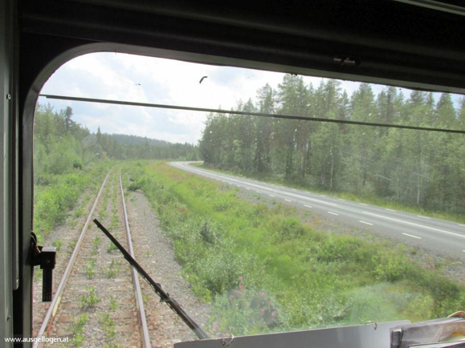mit dem Zug durch Schweden