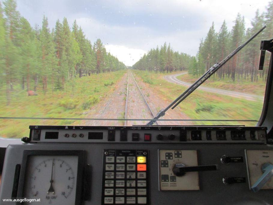 Zugreise Schweden Norden