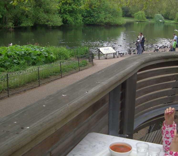 London mit Kind St. James´s Park